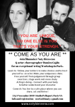ComeAs You Are Acting Workshop_2and3Nov_Paris